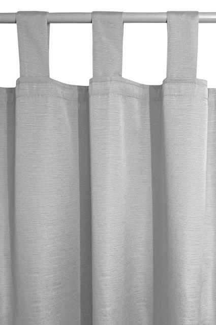 schlaufenschal blickdicht vorhang gardine elly 140cm x 240cm farbe w hlbar ebay. Black Bedroom Furniture Sets. Home Design Ideas