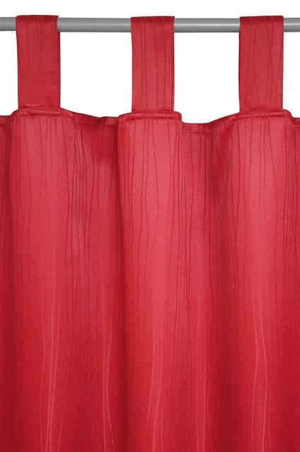 schlaufenschal vorhang gardine 140x240 sultan bordeaux ebay. Black Bedroom Furniture Sets. Home Design Ideas